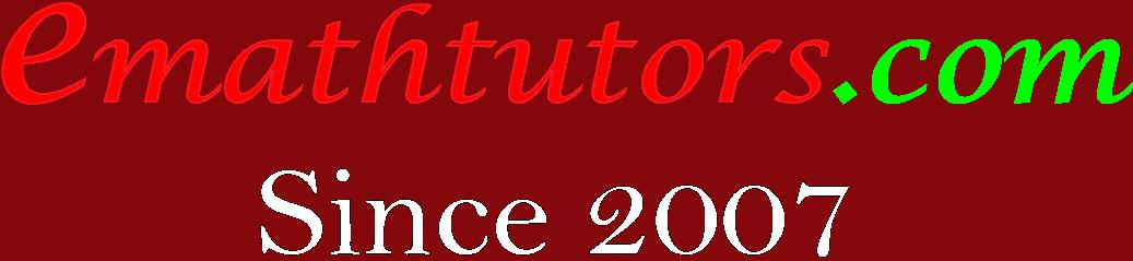 www.emathtutors.com